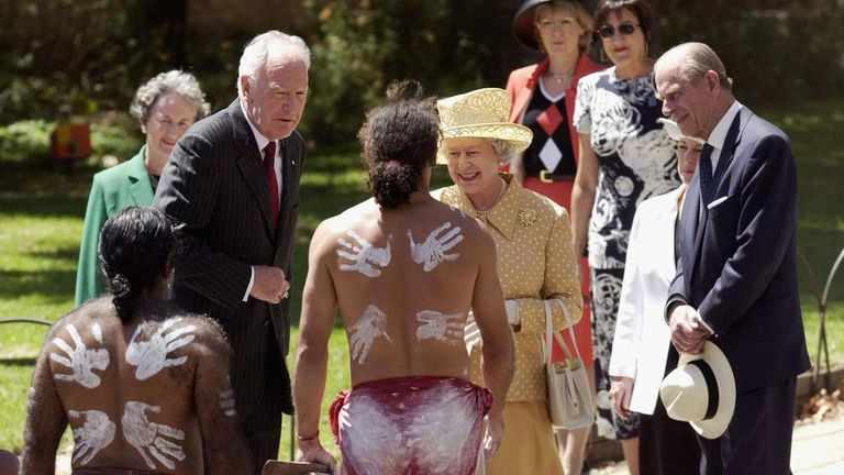 Royal visit to Australia in 2002