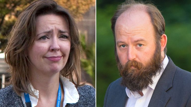 Fiona Hill and Nick Timothy