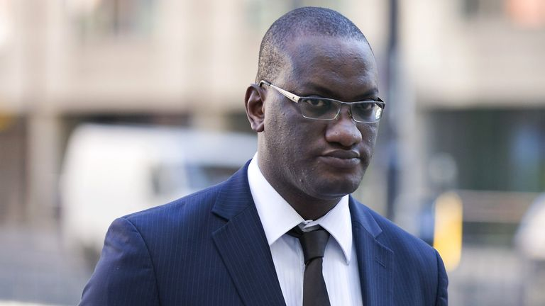 Ex Sun Journalist Anthony France at his trial in 2015