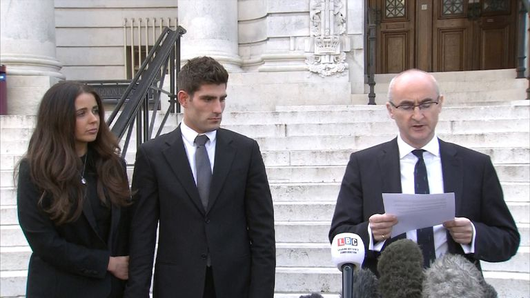 Ched Evans 'overwhelmed with relief' following verdict