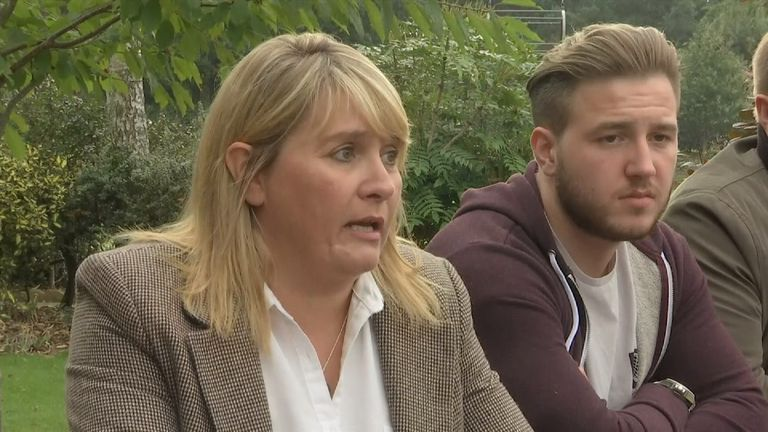 Nicola Urquhart fears her son may have been taken 'against his will'