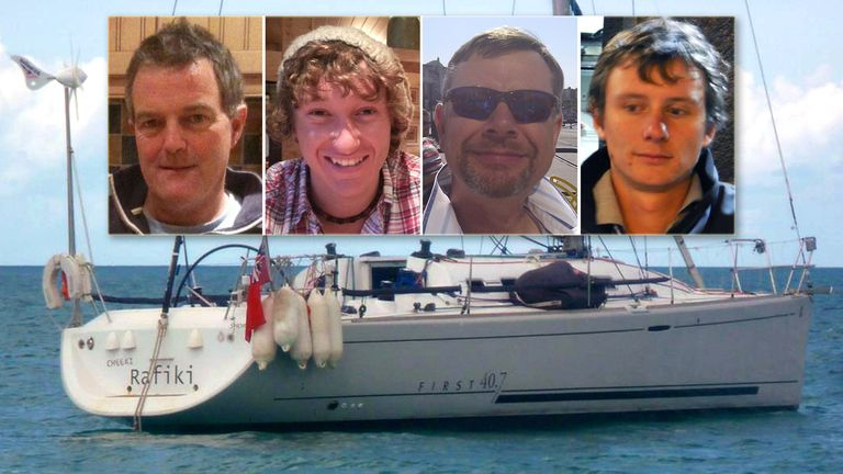 Paul Goslin, James Male, Steve Warren and Andrew Bridge