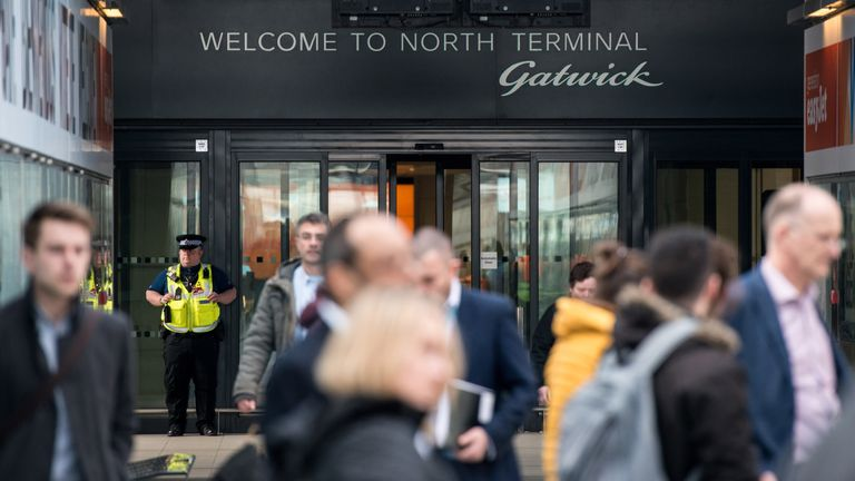 Gatwick Airport is seeking to build a new runway