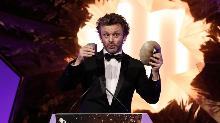 Michael Sheen hosts the BFI London Film Festival Awards at Banqueting House  in London