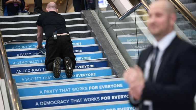 Conservative Party Conference in Birmingham