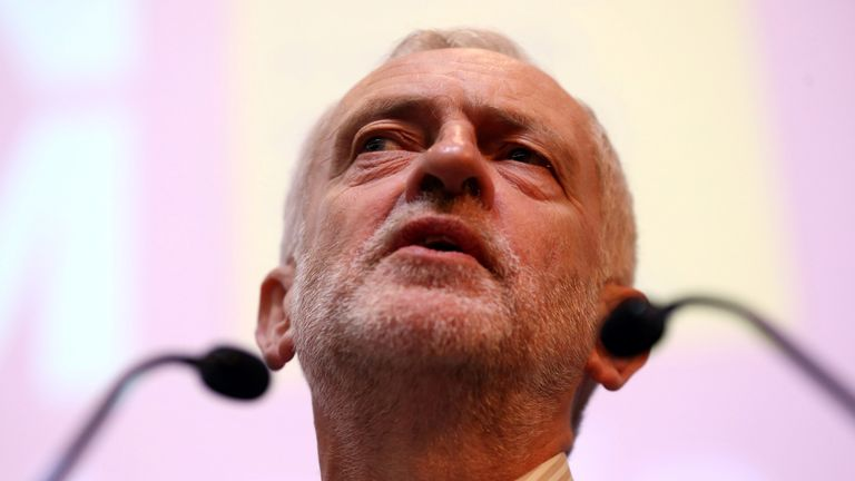 Jeremy Corbyn has spoken to the Parliamentary Labour Party for the first time since his re-election as Labour leader