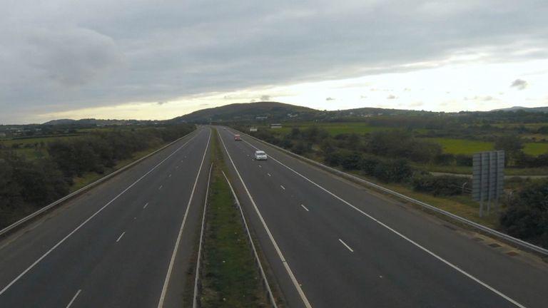 Border between the United Kingdom and Republic of Ireland
