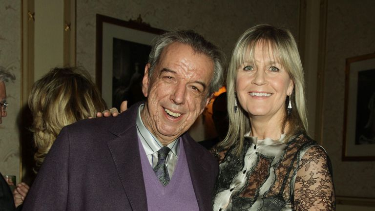Rod Temperton and his wife