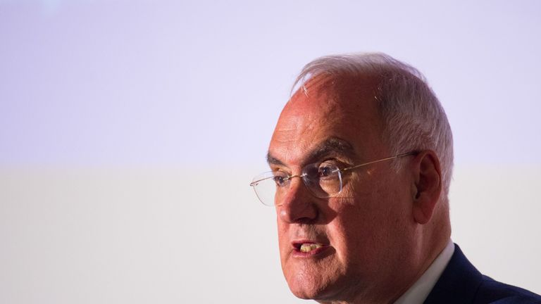 Head of Ofsted Sir Michael Wilshaw