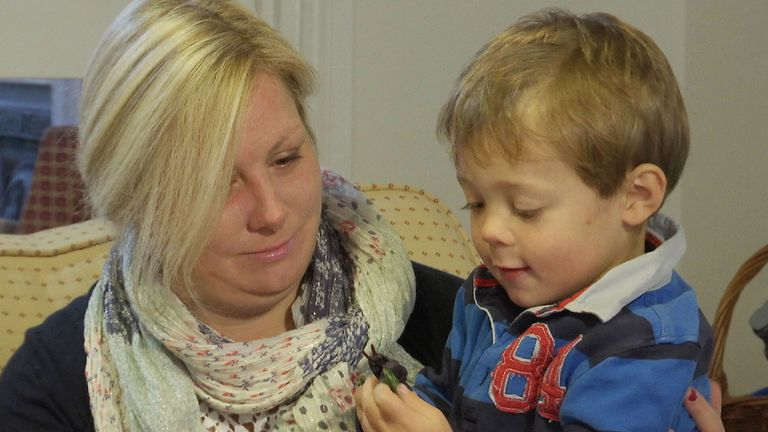 Catriona Ogilvy launched the petition after both her sons were born prematurely