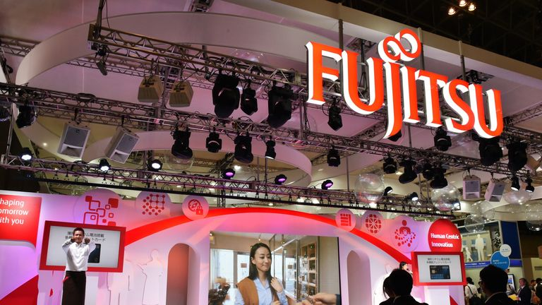 Japanese electronics firm Fujitsu currently employs 14,000 people in the UK and Ireland