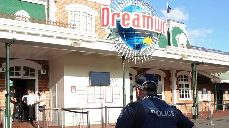 Dreamworld was closed after the incident