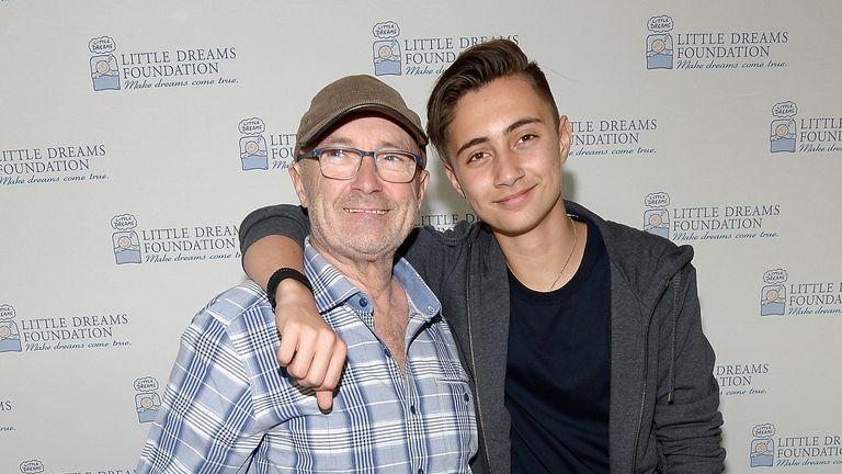 His 15-year-old son Nicholas, who also plays drums, will be performing with him
