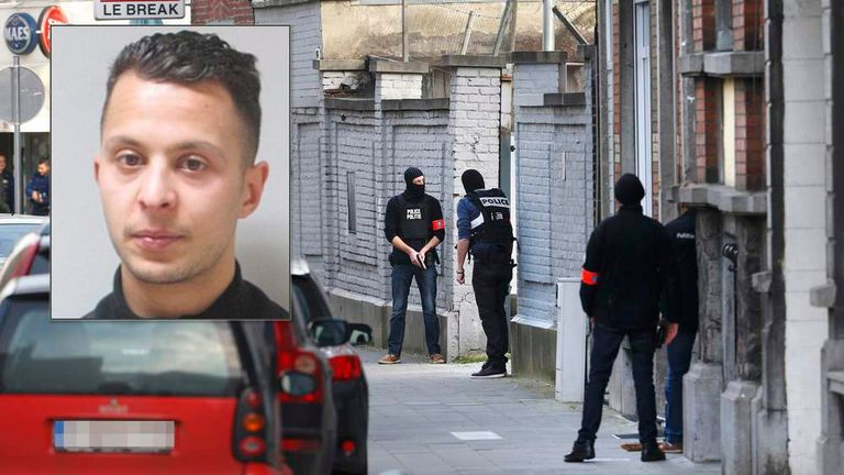 Paris attacks suspect Salah Abdeslam