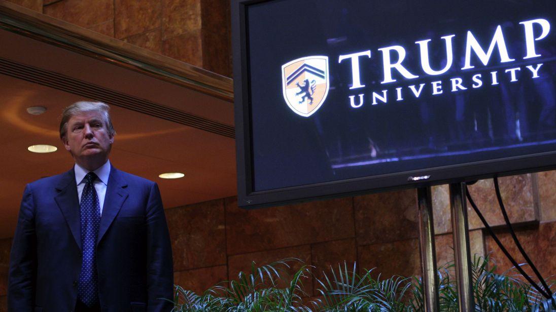 Donald Trump announced the establishment of Trump University in 2005 in New York City