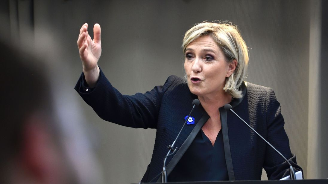 Marine Le Pen: 'It's an emergence of a new world'