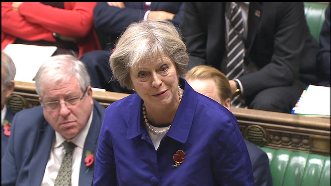 Theresa May was angry over FIFA's stance on players wearing poppies