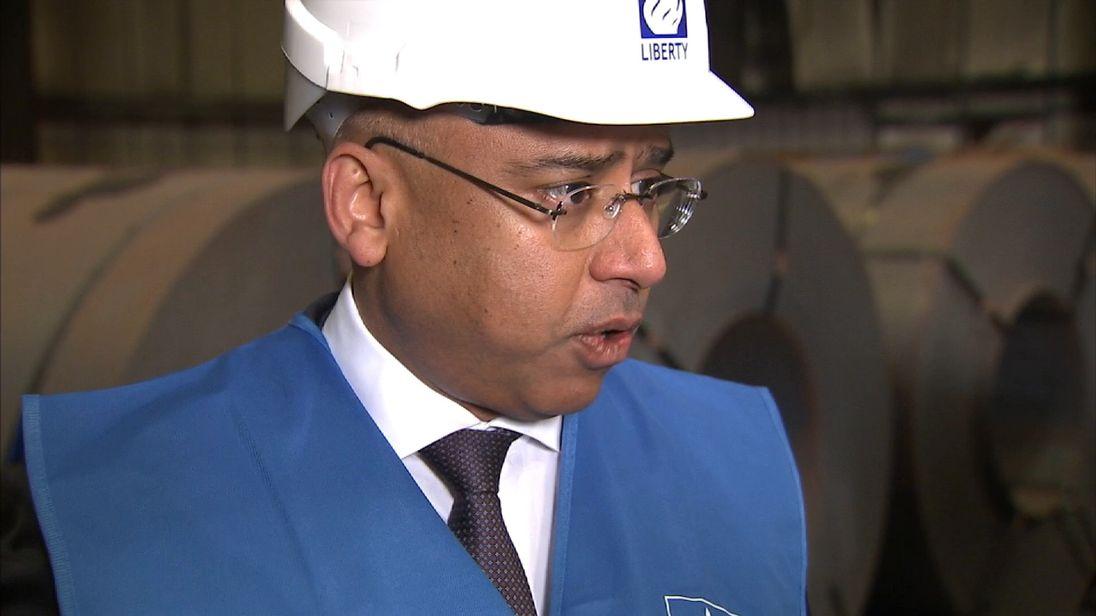 Sanjeev Gupta, executive chairman of Liberty House