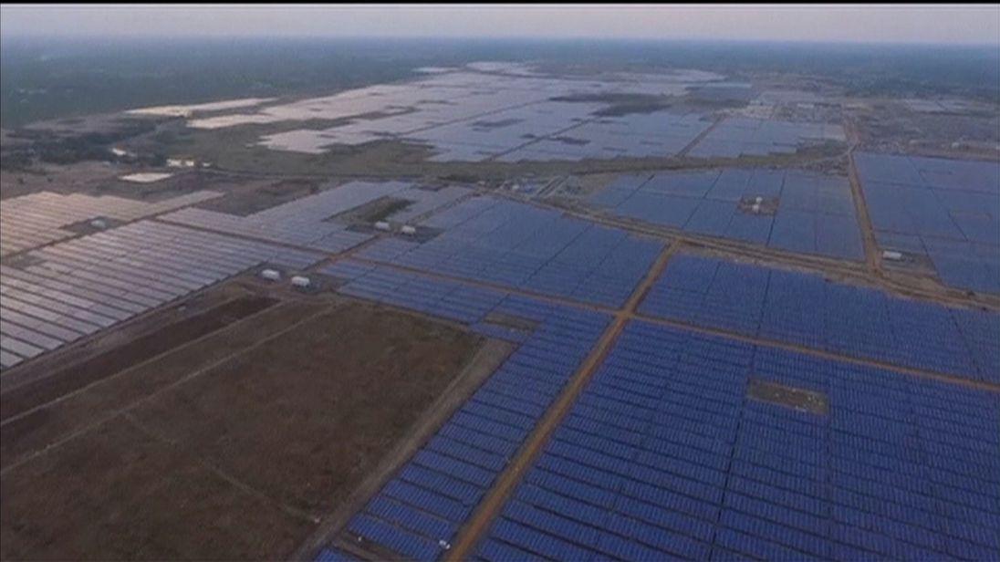 Solar Farming Potential in India