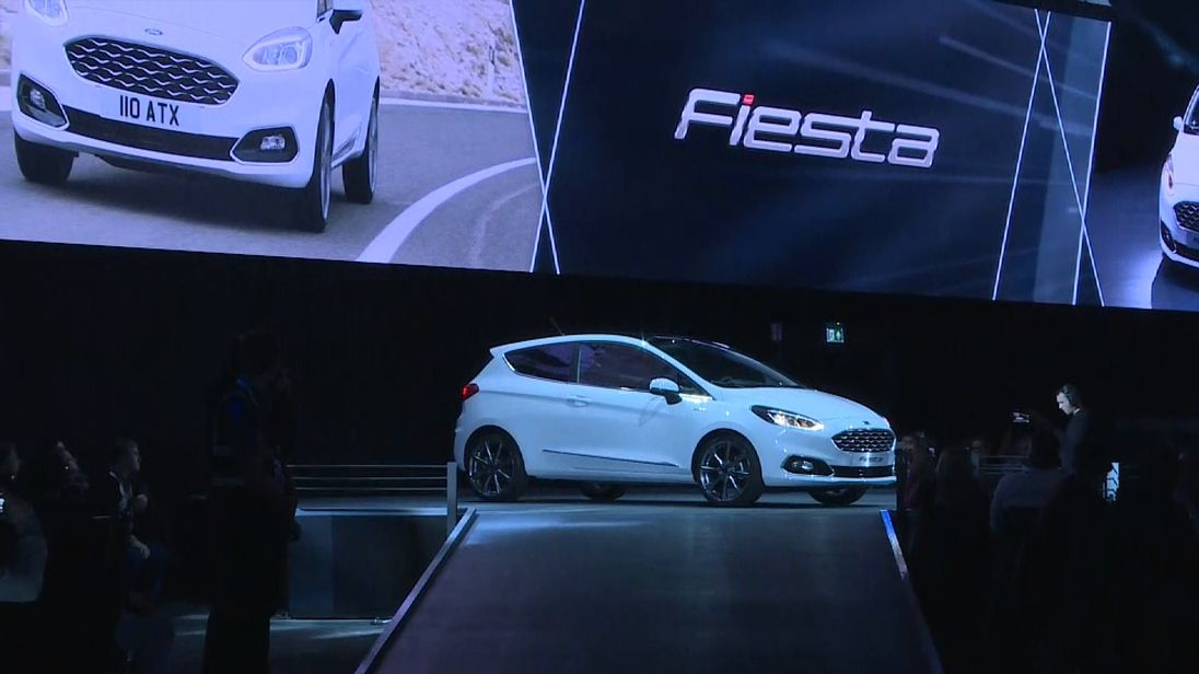 Ford's new Fiesta unveiled in Cologne November 2016