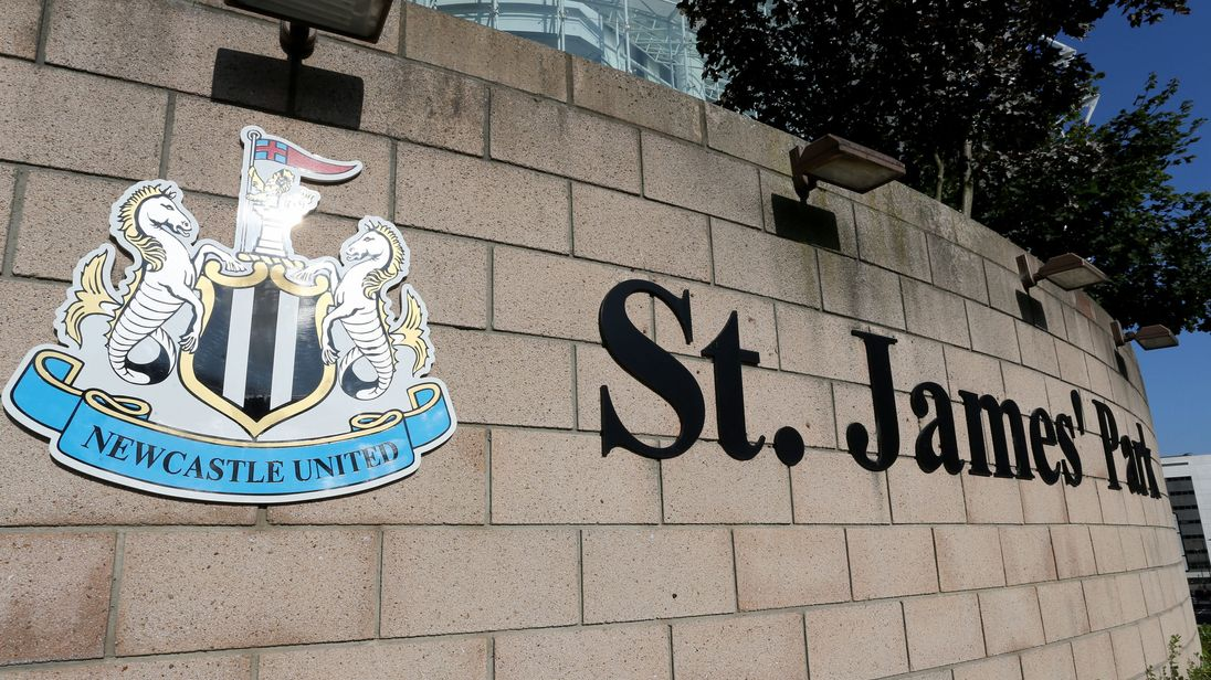 A general view of St James' Park, the home of Newcastle United Football Club