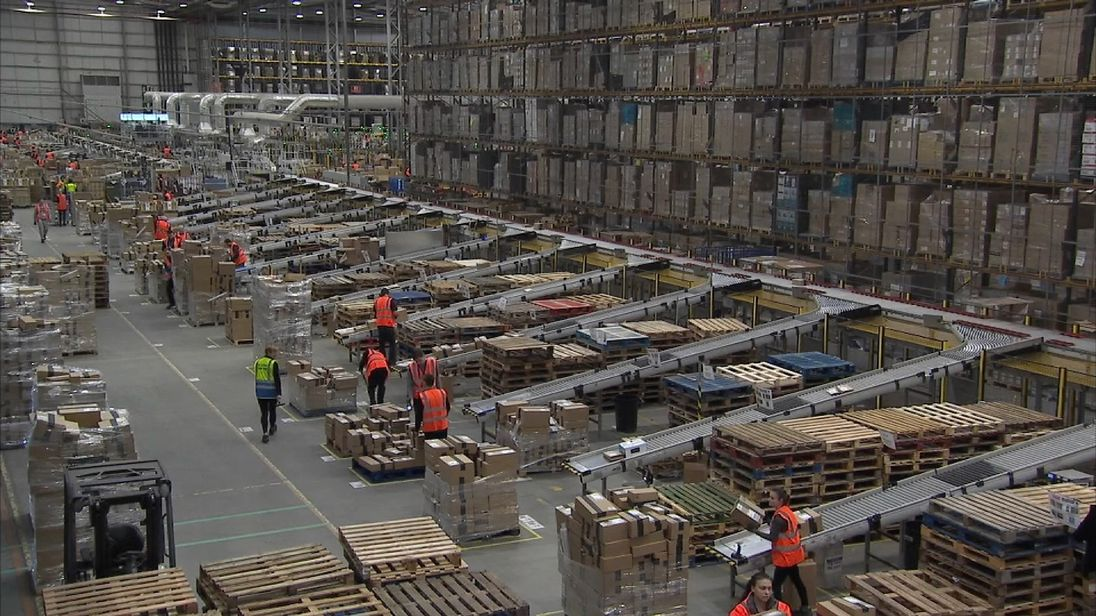 Amazon has two new fulfilment centres in the UK