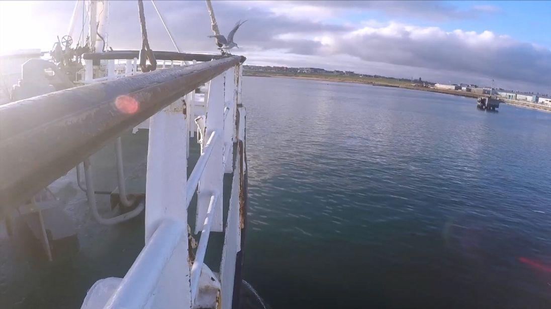 Screengrab from Joe Tidy fishing VT