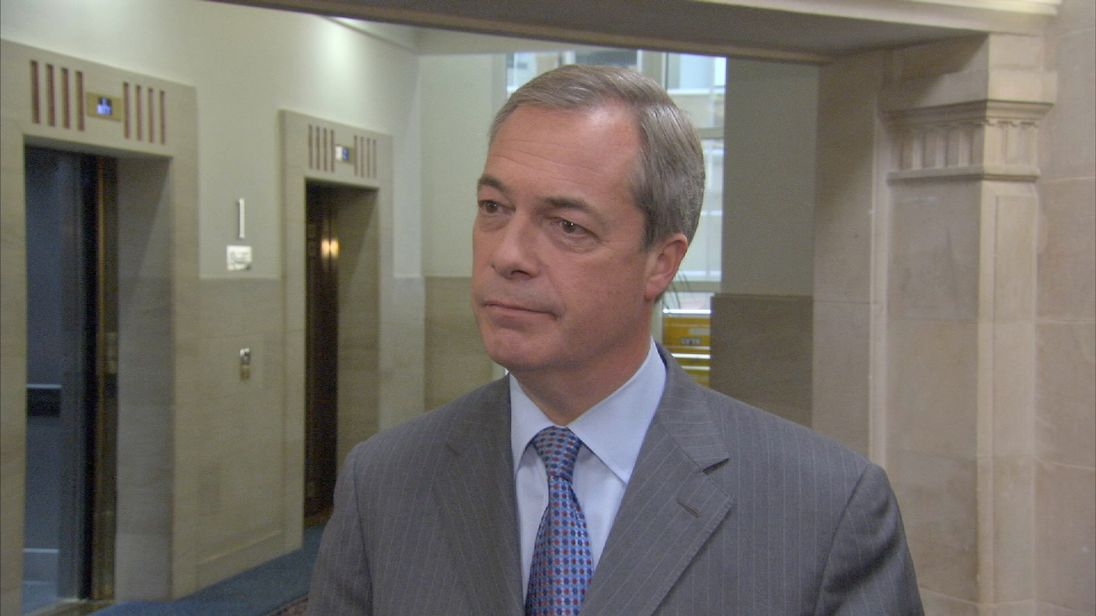 Nigel Farage says he can help forge relationships with Donald Trump