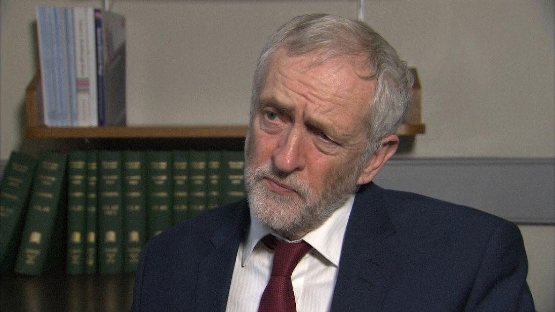 Jeremy Corbyn talks about the legacy of Jo Cox