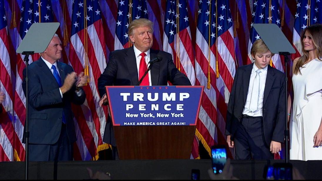 Trump victory speech