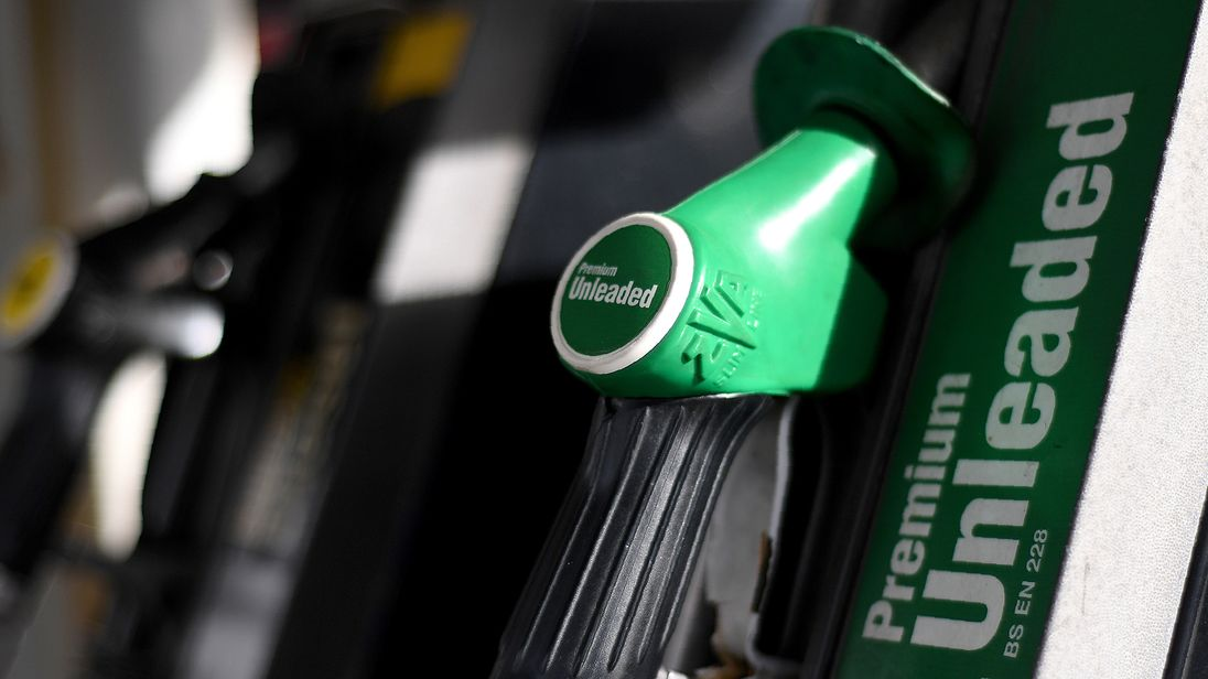 Fuel prices are determined by oil prices and currency movements