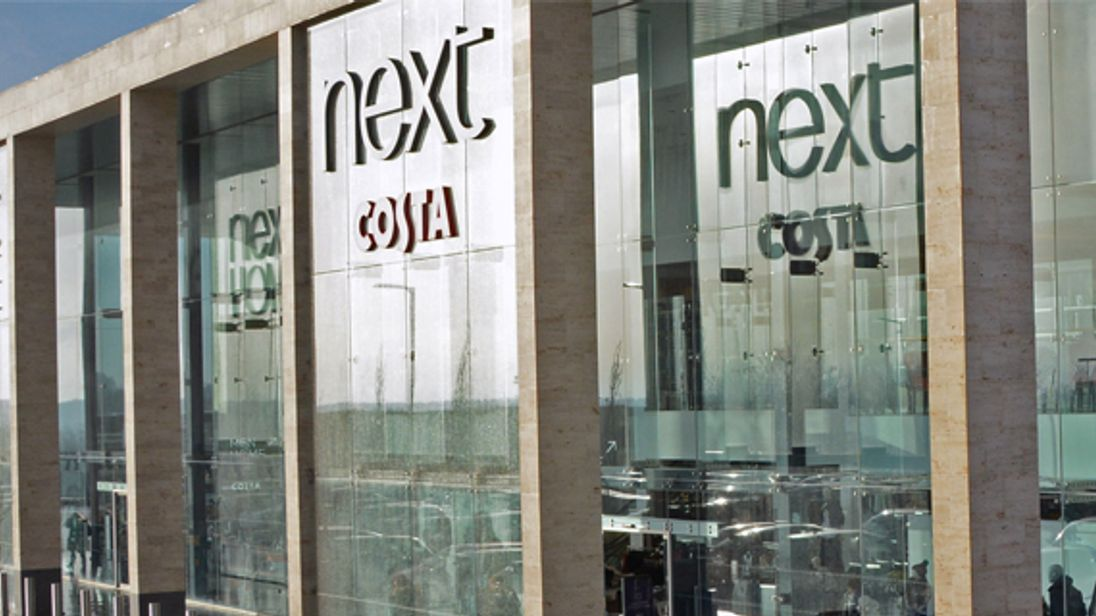 Next says it saw a pick-up in sales in October