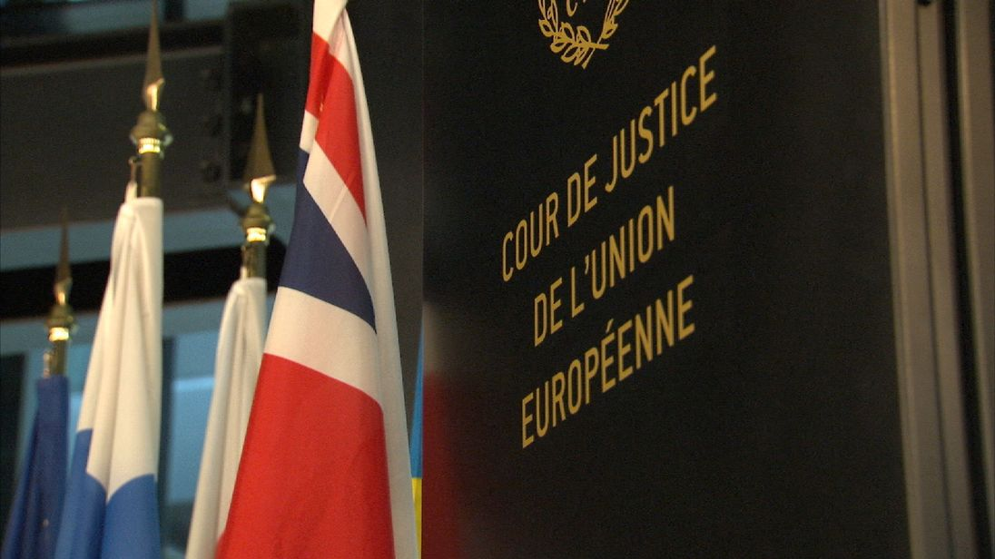 The European Court of Justice is based in Luxembourg
