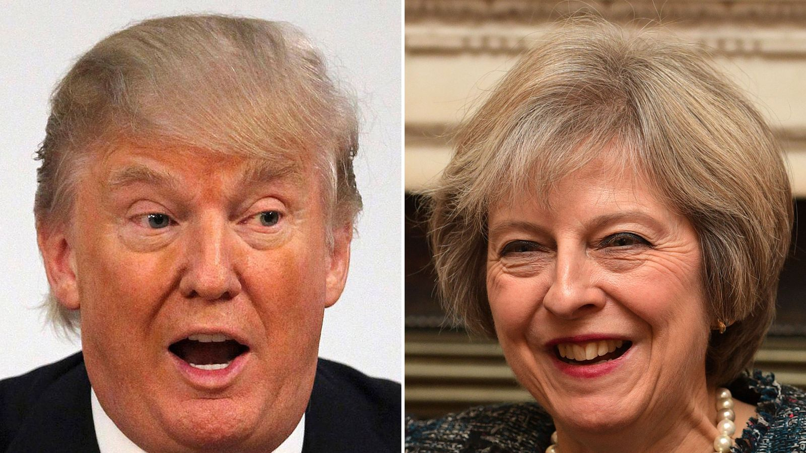 political differences of the us president and the british prime minister Theresa may struck a populist tone in her first public talk as british prime minister @theresa_may - despite our differences president reiterated.