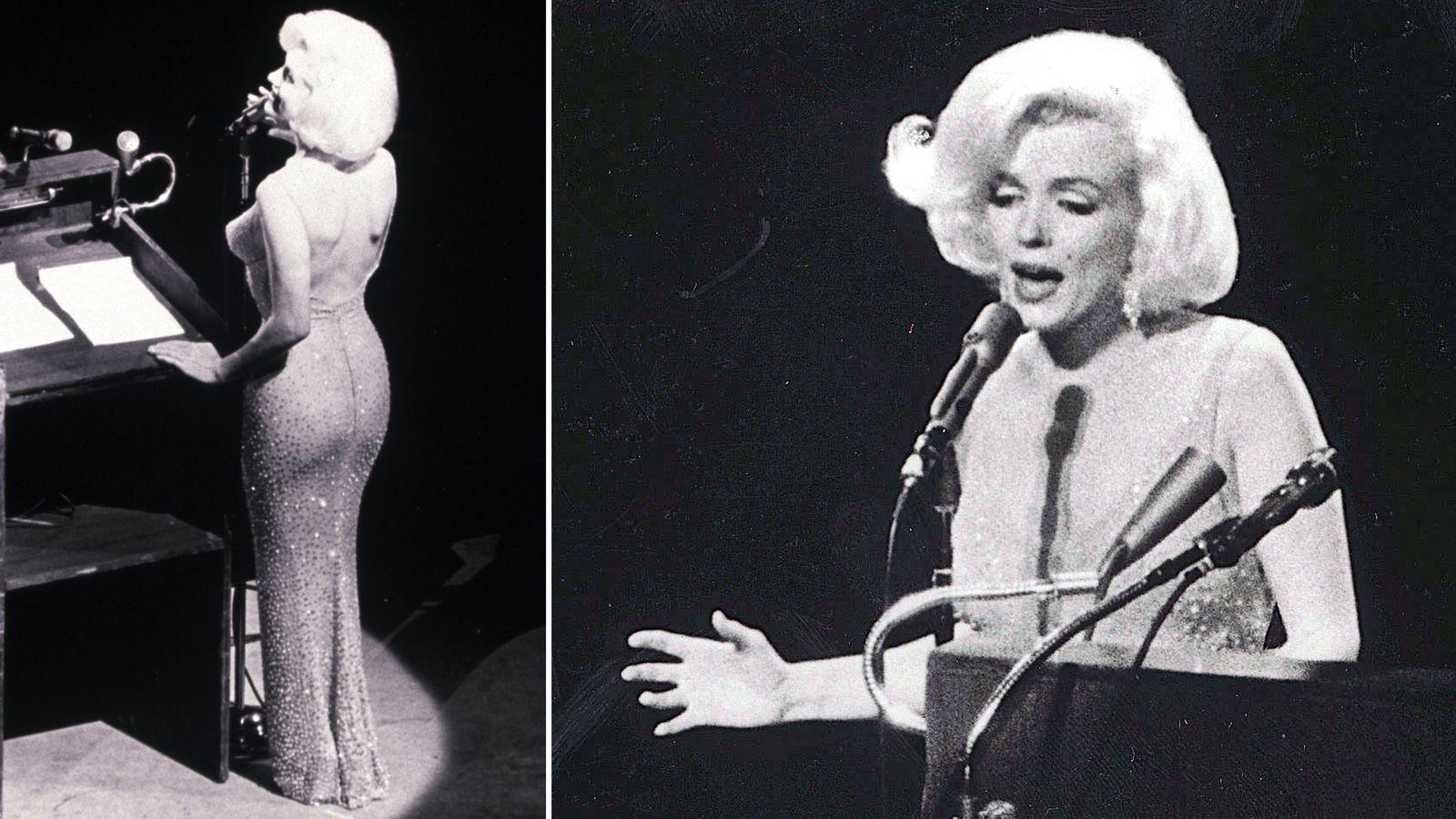 Marilyn Monroe S Happy Birthday Dress Sold For 4 8m