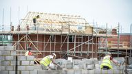 The Chancellor is going to unveil a cash injection to help build 40,000 new homes