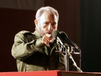 Fidel Castro stood down from office in 2008