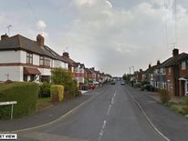 Welwyn Road, Hinckley, Leicestershire, where the bodies of a man and two children have been found in a house