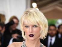 Swift, known for her style, at a fashion show at New York's Metropolitan Museum of Art