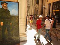 Poster of Fidel Castro in Cuba