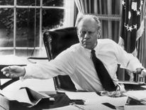 Gerald Ford became president after Watergate but never won election himself