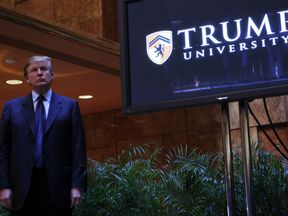 Donald Trump announced the establishment of Trump University in 2005 in New York City