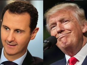 Mr Assad says he is 'dubious' about some of the US President-elect's pledges