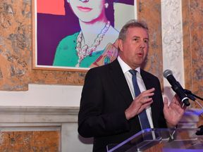 Her Majesty's Ambassador to the United States, Sir Kim Darroch