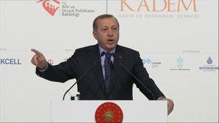President Erdogan issues warning to EU