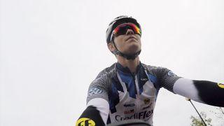 Cyclist Toby Atkins