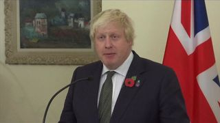 Boris Johnson says snap out of the doom and gloom over Trump