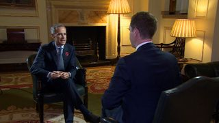 Mark Carney talks to Ed Conway
