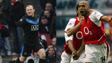 Arsenal vs Man Utd: Memorable goals