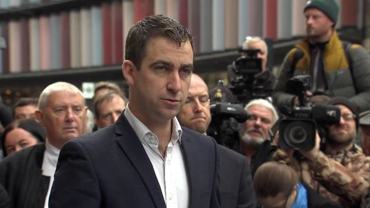 Brendan Cox, the widow of the murdered Labour MP
